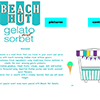 Image of website created by Gabriella